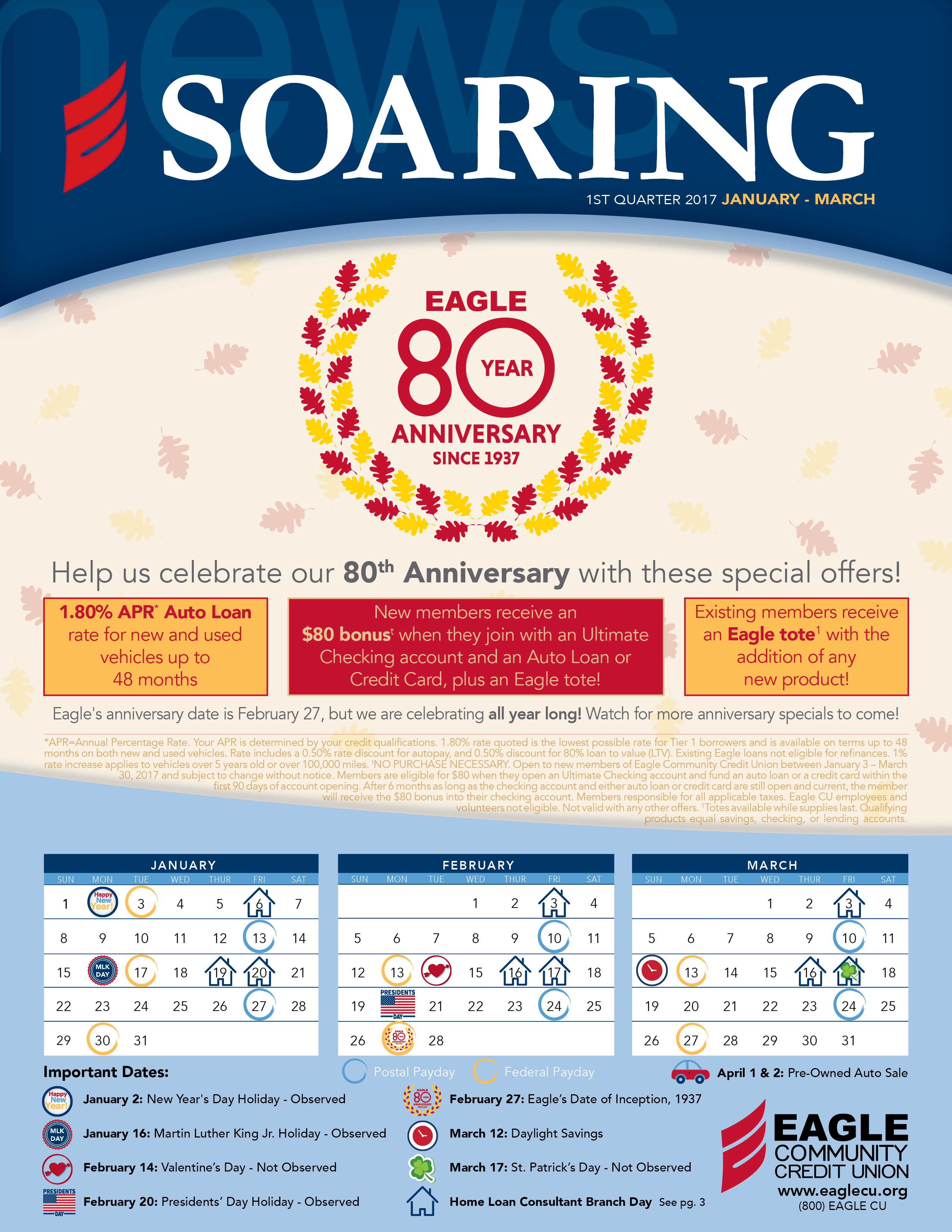 1st Quarter Soaring Newsletter