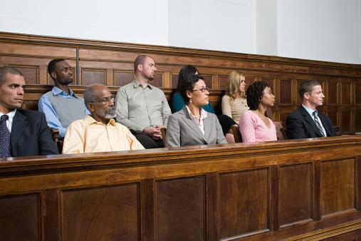 People in a court room